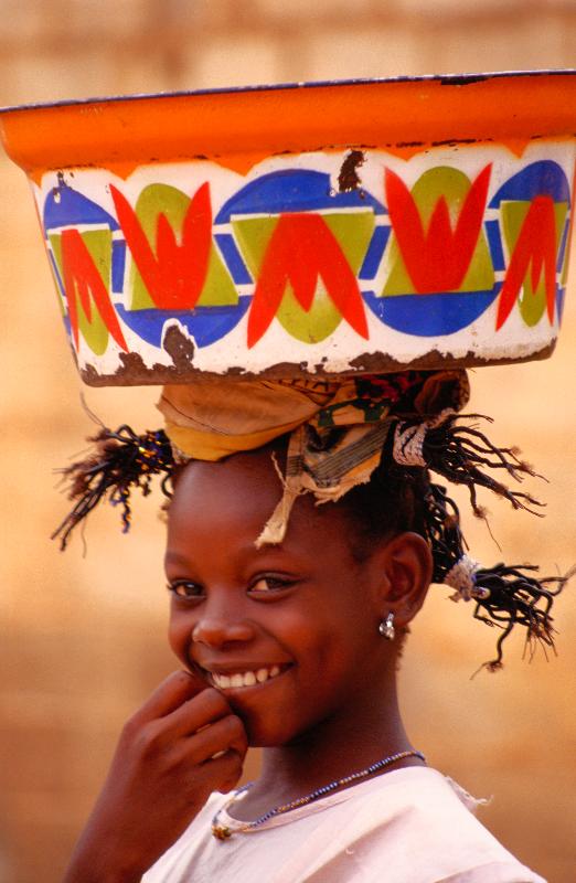 Malí: casi me ahogo en el río Níger