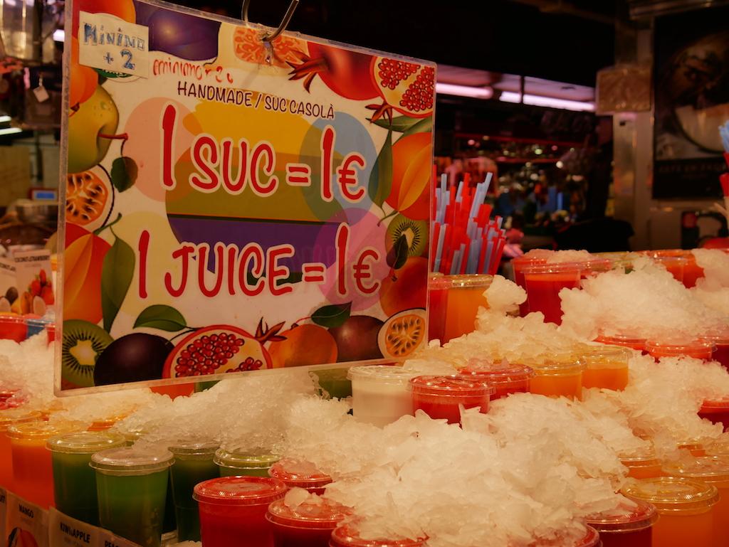 ¿Comprar fruta en La Boqueria?