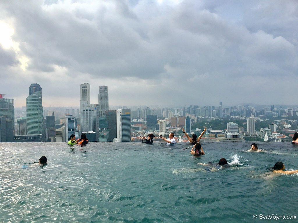 La piscina infinita más alta del mundo