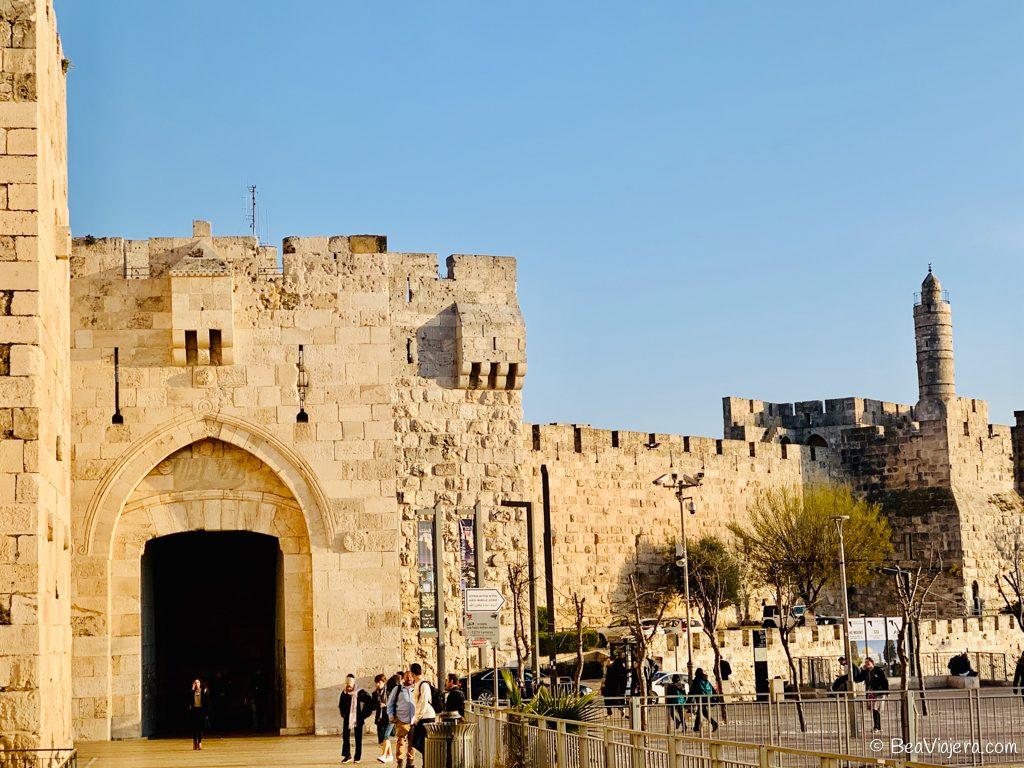 Ciudad Vieja de Jerusalén,  tres veces sagrada