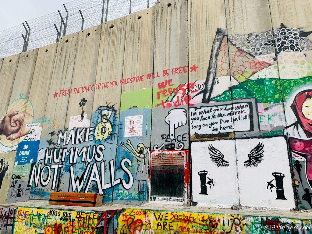 Visita a Belén, de Israel a Palestina