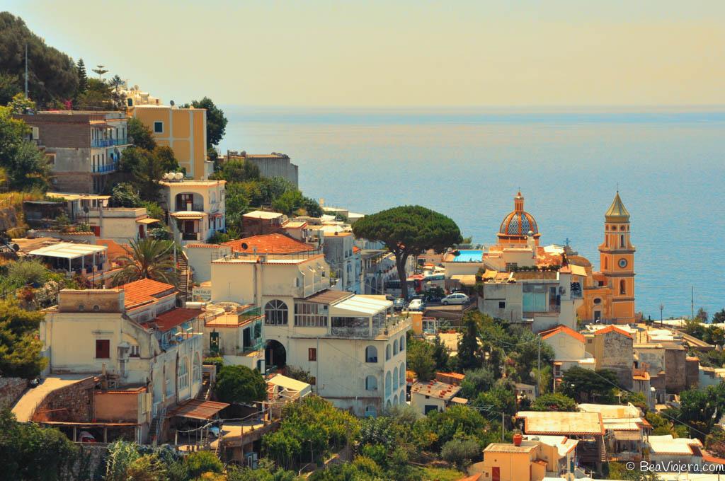 Costa Amalfitana balcones al mar Tirreno