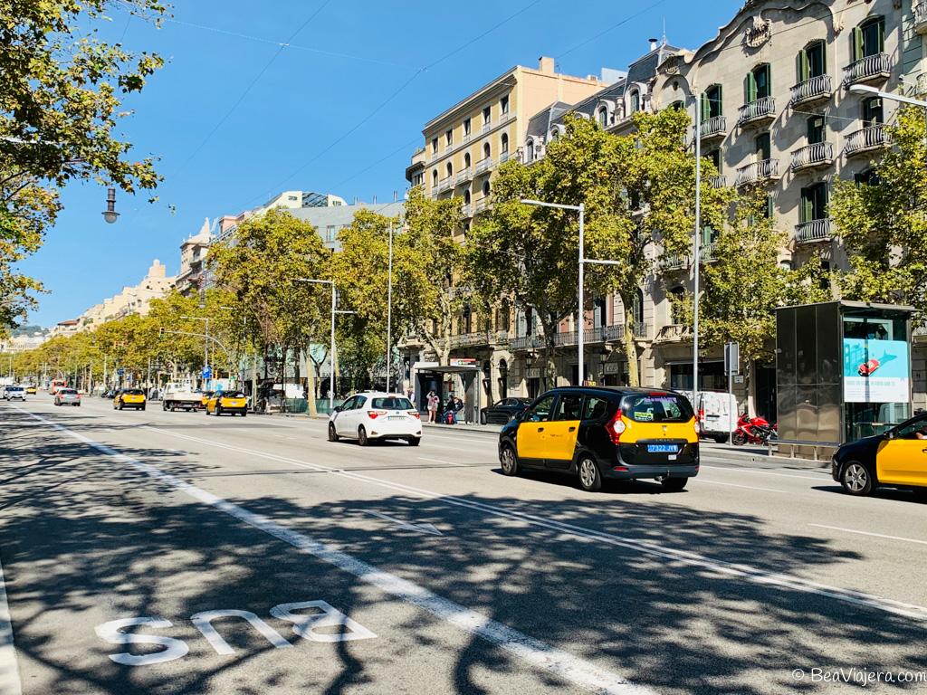Passeig de Gràcia el gran bulevar de Barcelona