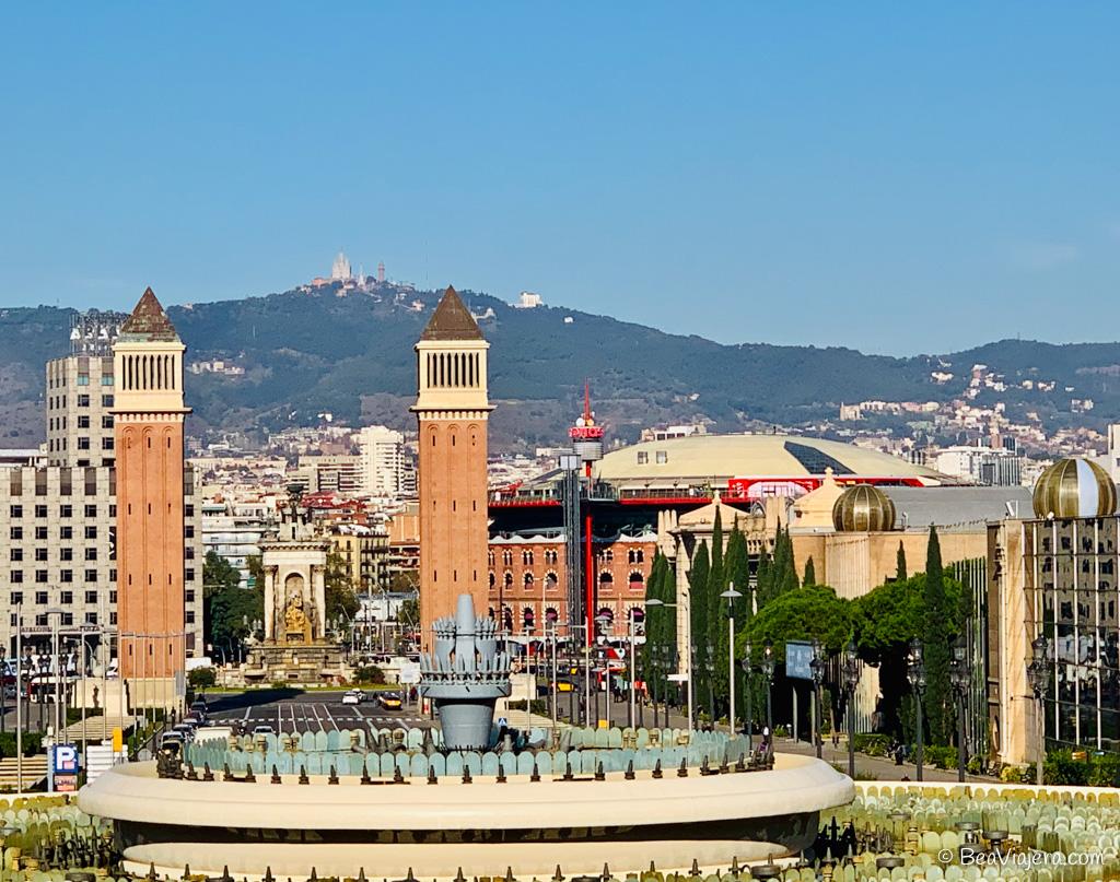 Montjuic mucho más que la montaña de Barcelona