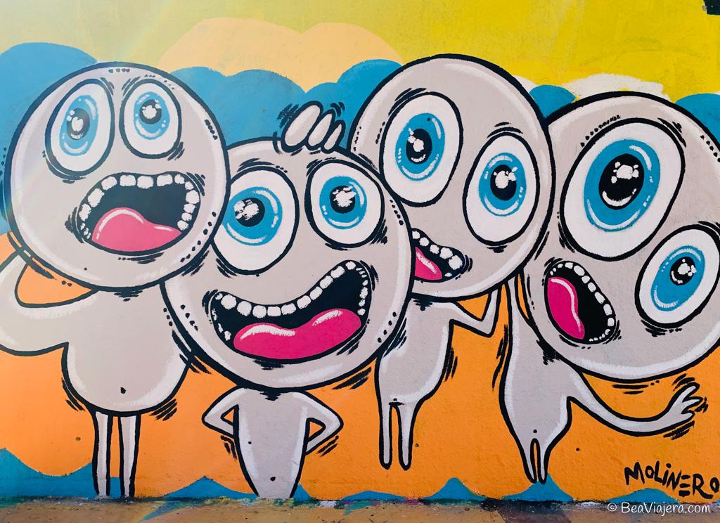 Ruta de grafitis por Barcelona