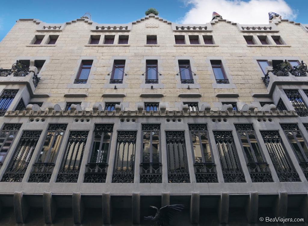 El Palacio Güell obra de Gaudí en Barcelona